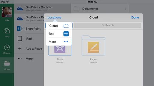 MS Cloud integration