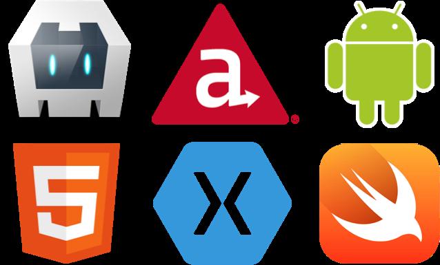 mobile platform logos