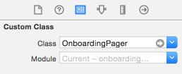 set onboarding pager class