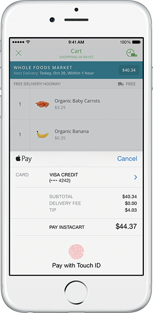 Stripe Apple Pay