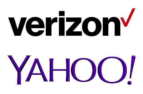 VZ Yahoo logos