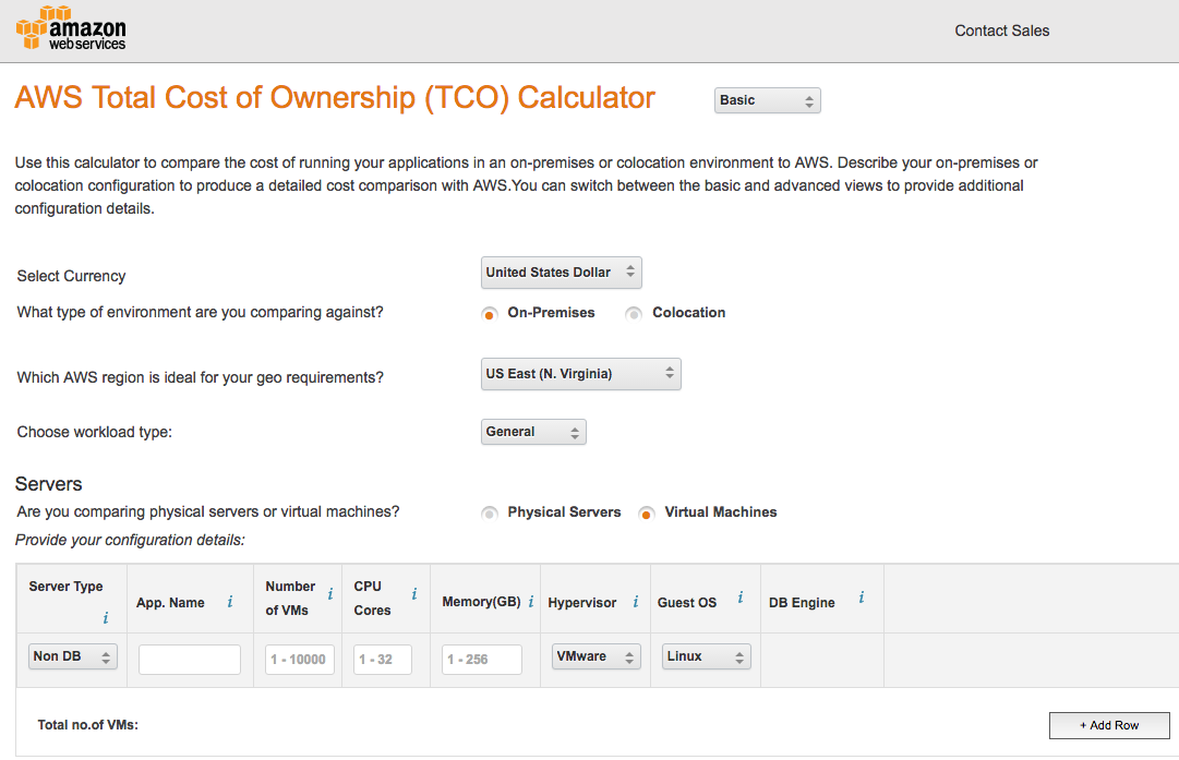 aws-tco-calculator