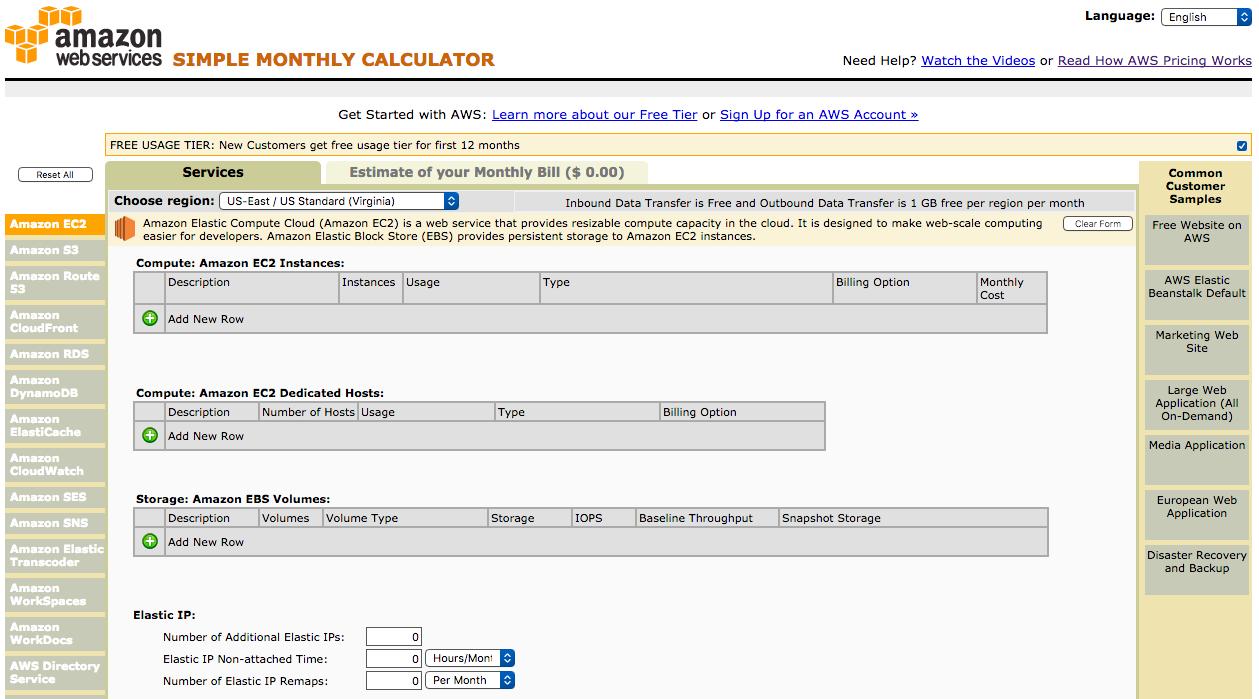 aws-monthly-calculator