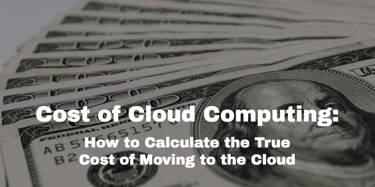 cost-of-cloud-computing