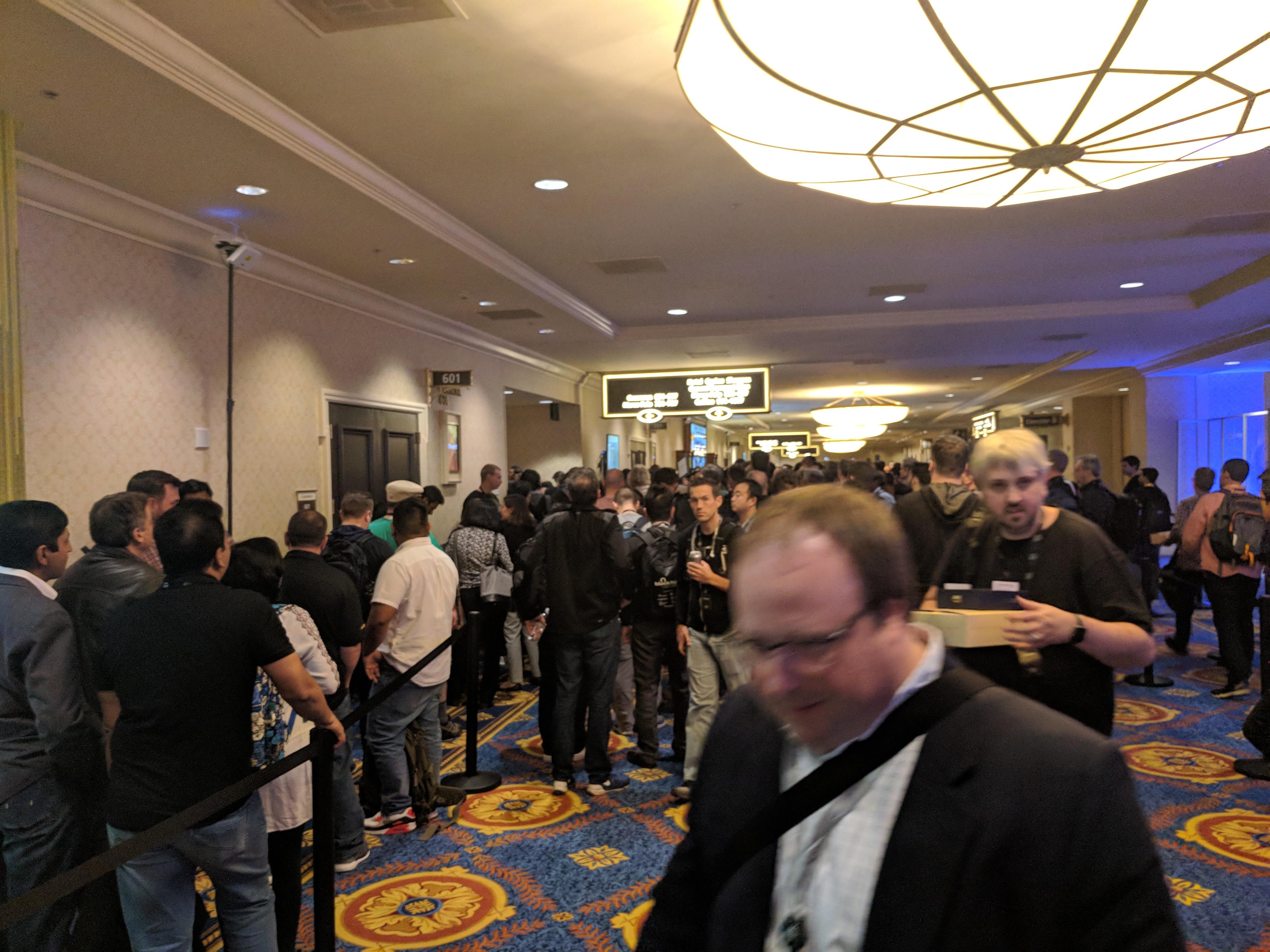AWS reinvent Line for DeepLens