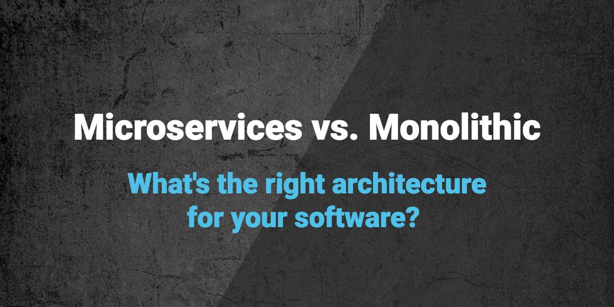 microservices vs monolith - blog image
