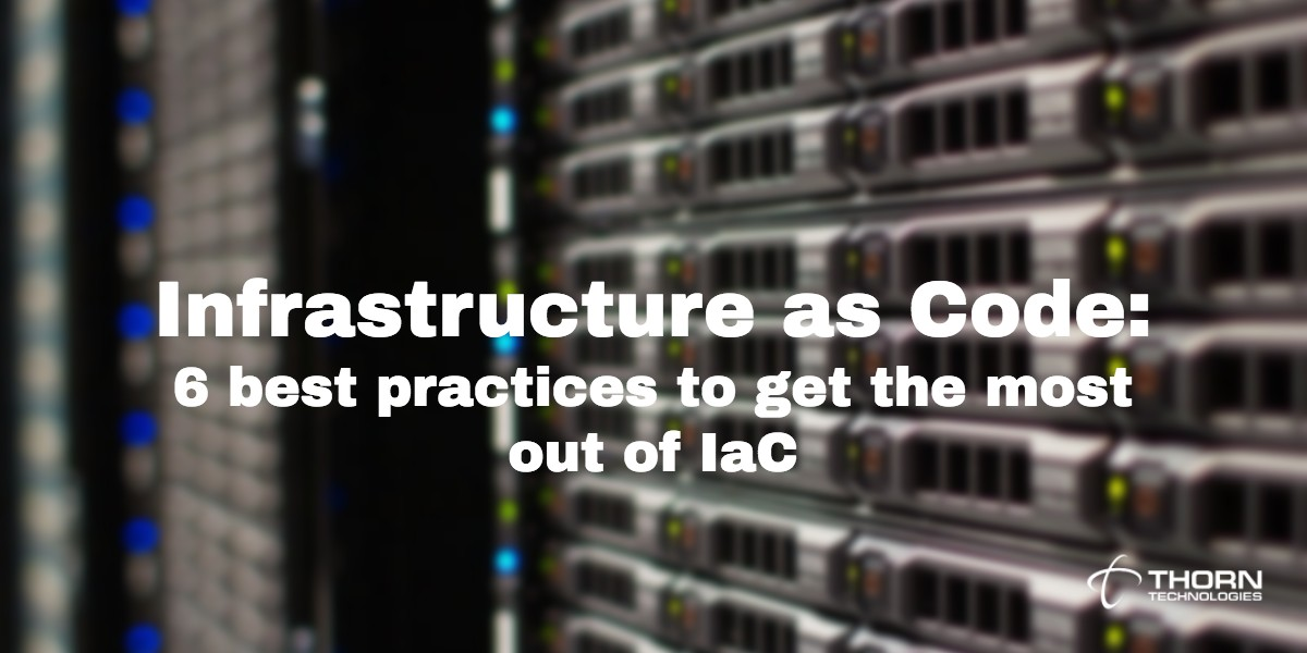 Infrastructure as code best practices