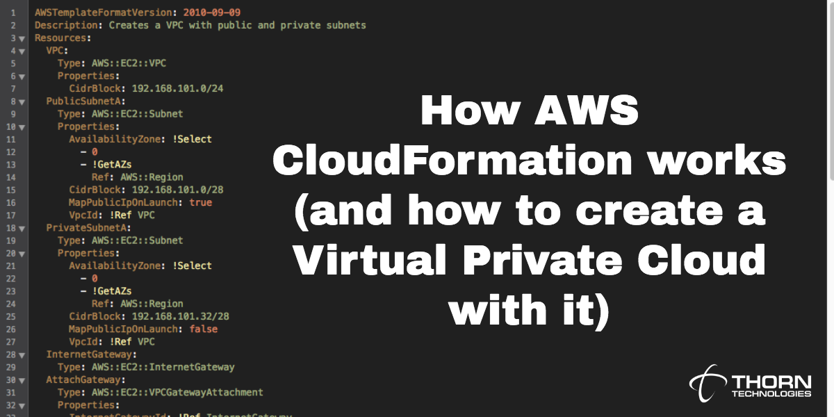 How AWS CloudFormation Works (and How to Create a Virtual Private Cloud with it)