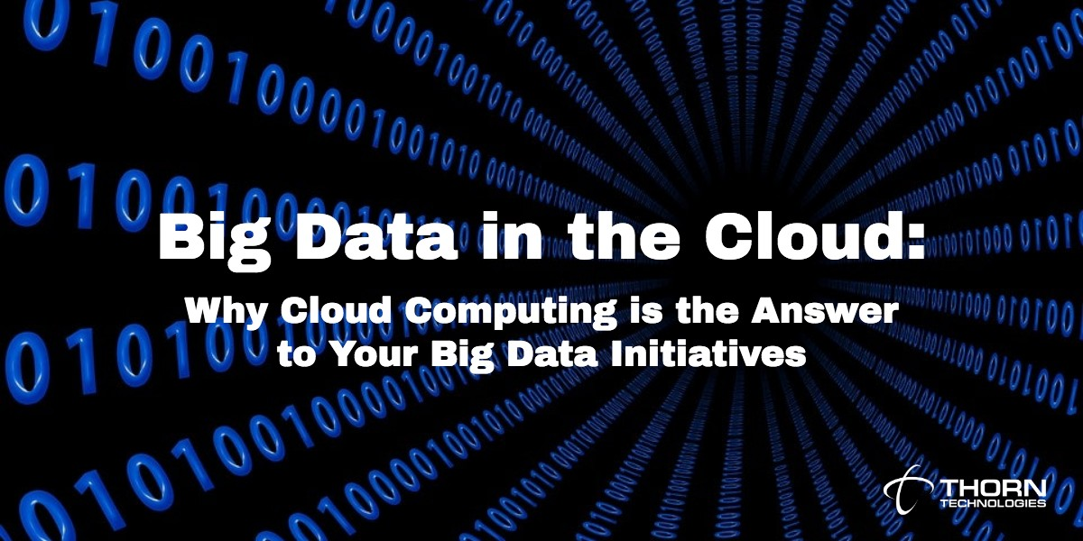 Big Data in the Cloud: Why Cloud Computing is the Answer to Your Big Data Initiatives