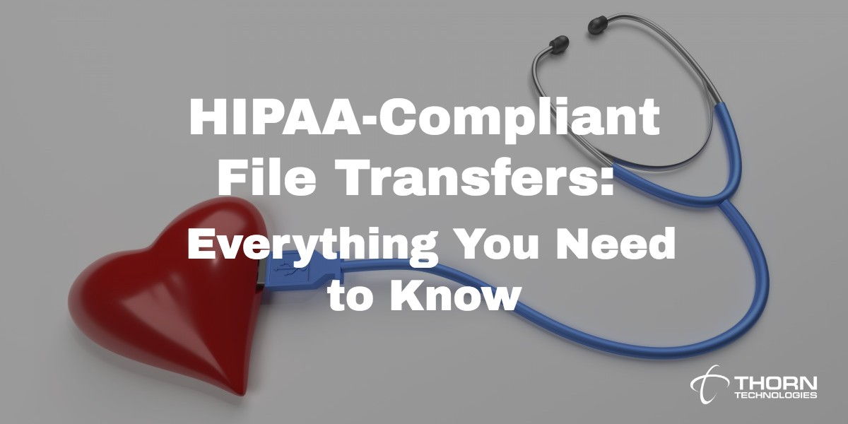 HIPAA-Compliant File Transfers: Everything You Need to Know