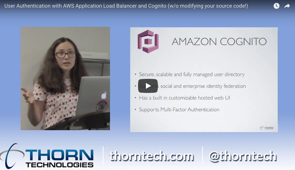 AWS Tutorial: How to Implement User Authentication with Application Load Balancer and Cognito (Video)